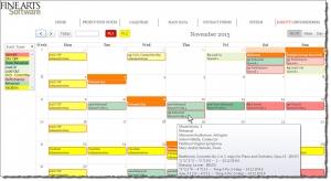 OPAS Online Calendar