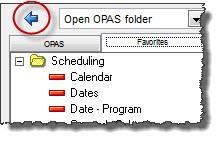 Open OPAS Folder
